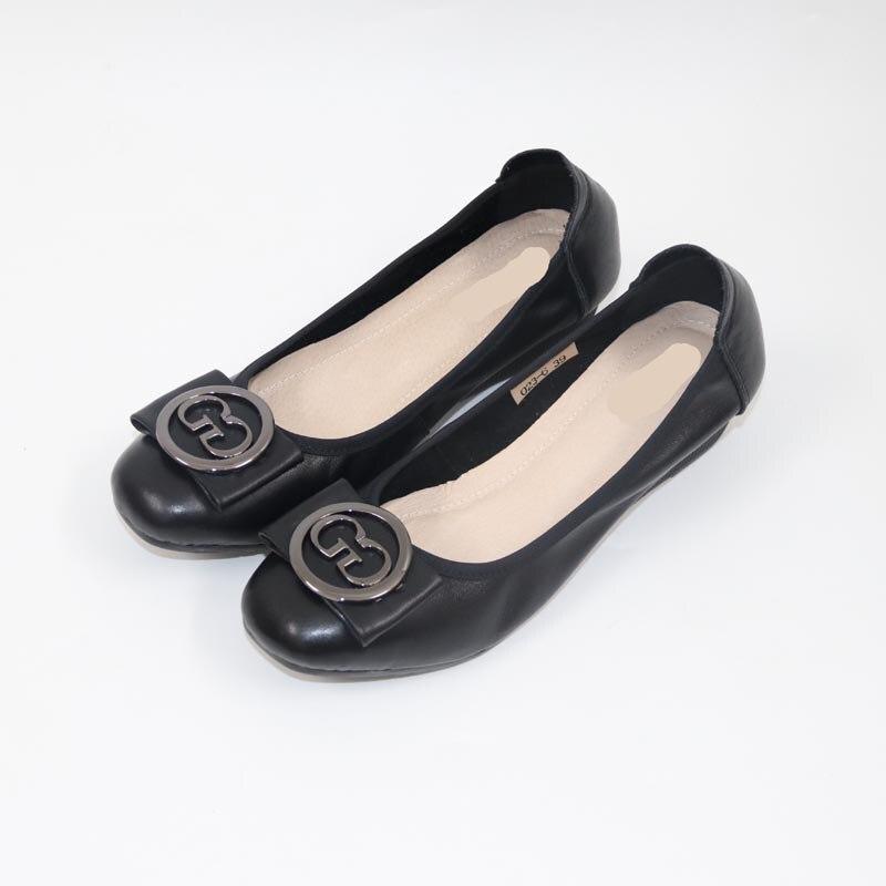 цена на NEW Genuine leatherWomen's Shoes Classic leisure women shoes High heeled shoes Comfortable and high heeled women shoes