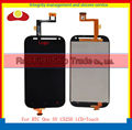 10pcs/lot High Quality For HTC One SV C525E Lcd Display Assembly Complete+Touch Screen Digitizer Black and White Free Shipping