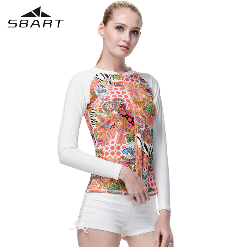 buy sbart womens swim rashguard long. Black Bedroom Furniture Sets. Home Design Ideas