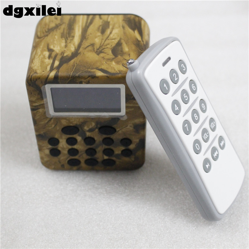 Remote Control 50W Hunting Bird Mp3 Player Bird Caller With Timer Memory On/Off