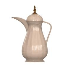 REBUNE 1 Litre plastic Coffee Carafe/Glass Liner Vacuum Thermos/24 Hour Heat Retention/RE-1-050