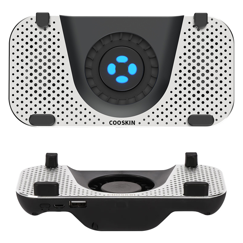 Game Pad Mobile Phone Cooler Cooling Fan Gamepad Holder Stand Quality Aluminum Alloy Radiator Mute Fan For 4-7 Inch Smartphone