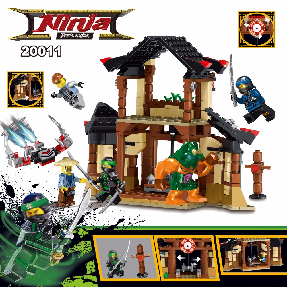 2018 NEW Ninja For the Lost Temple Model Building Blocks Bricks Toys Compatibility With Legoingly Ninjagoes For Children Gift new bela 10530 ninjagoes toy building blocks phantom ninja chaos samurai cave 1307pcs 70596 06039 gift boy set