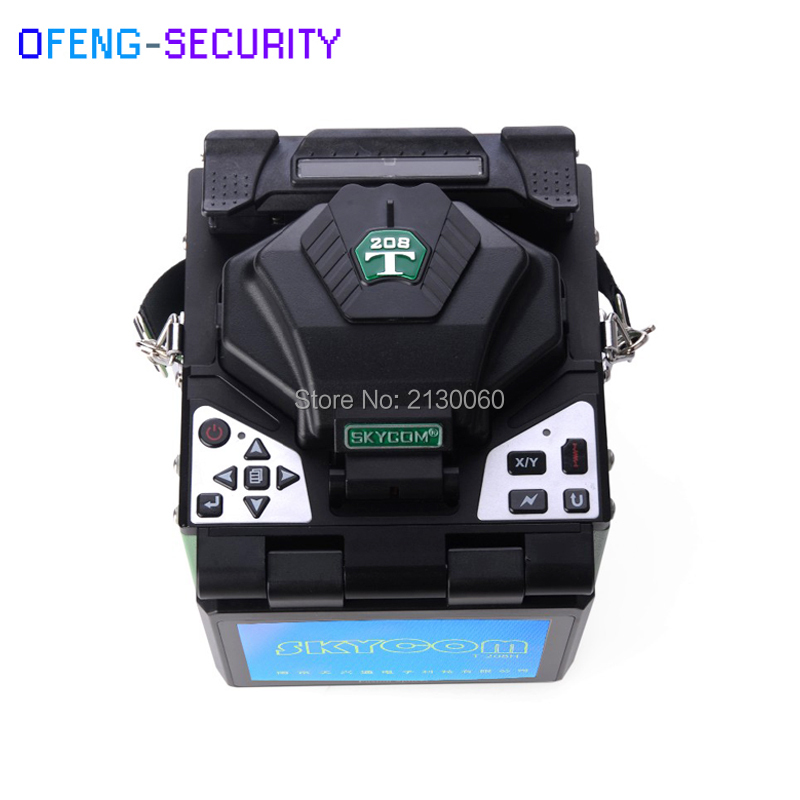 SKYCOM Multi-language T-208H Digital Optical Fiber FTTH Fusion Splicer