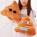 Emoji Funny Poo Smiley Pillow Soft Bolster Cushion Cotton Bedding Body Cushion Funny Pillow Tricky Toy Bolster Christmas Gifts