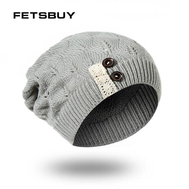 3702871a1ef FETSBUY Winter Hats For Men Bonnet Skullies Caps Women Winter Beanie Warm  Baggy Mask Men s Knit Hat Beanies Women FK7704