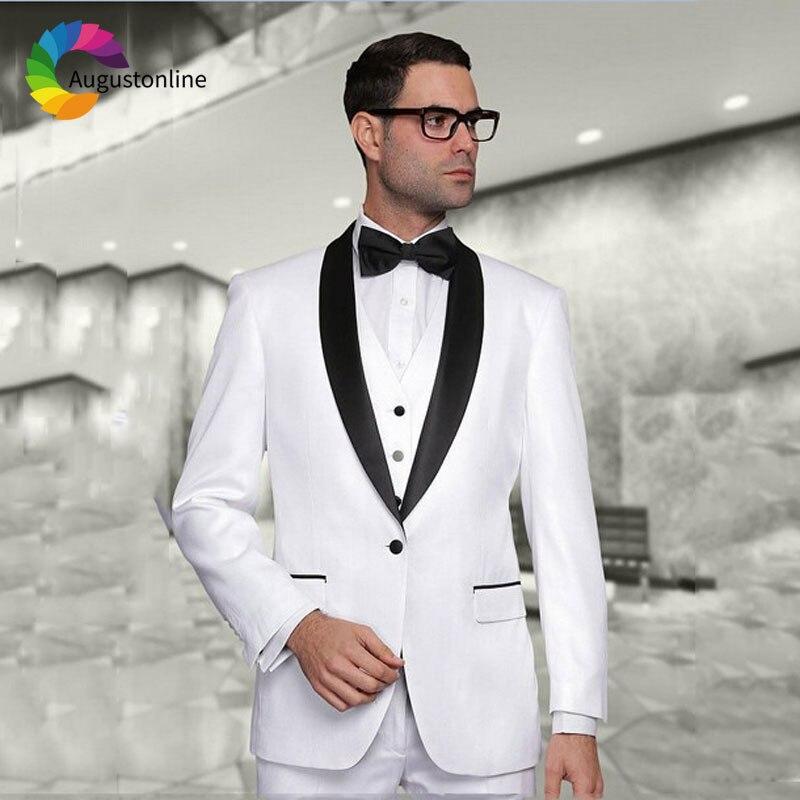 1 Men Suits Wedding Suits Costumes Mariage Homme Men\`s Wedding Suits Terno Masculino Costume Homme Mariage Men Suit with Pants Best Man Blazer Masculino Men\`s Suits Slim Fit Custom Made men suits (22)