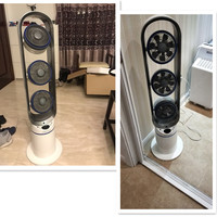 Household 3 Head Electric Fan 3 Gear Electric Air Circulation Fan With 8 Hours Timer EU/AU/UK Commercial And Household Using