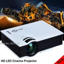 Bravo Proyector HDMI USB altavoz incorporado buena calidad de imagen Proyector para el hogar cine Projecteur 3D LED Beamer idioma español