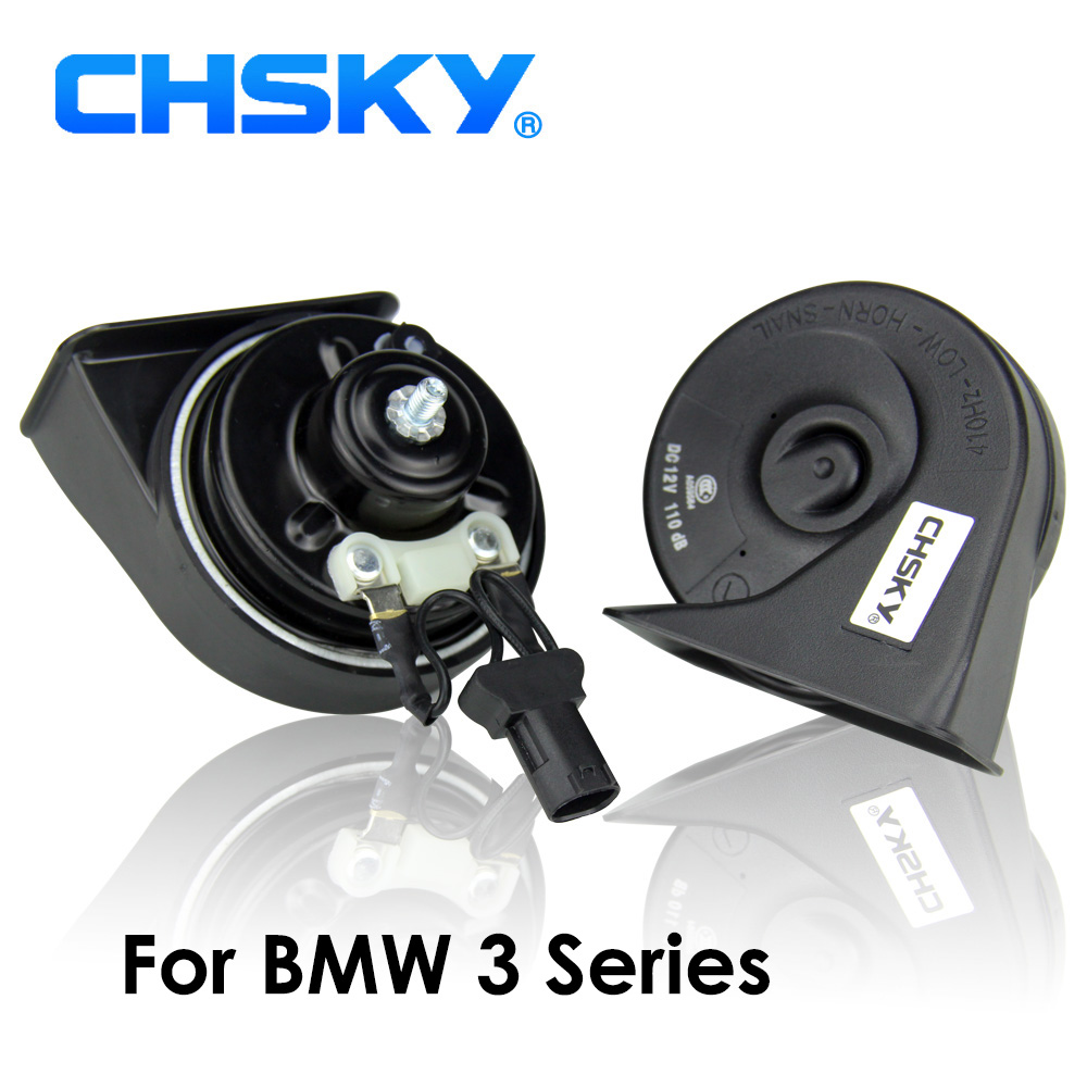 Us 23 36 17 Off Chsky Car Horn Snail Type Horn For Bmw 3 Series E46 E90 E91 E92 E93 F30 F31 F34 F35 12v Loudness 110 129db Auto Horn Klaxon In