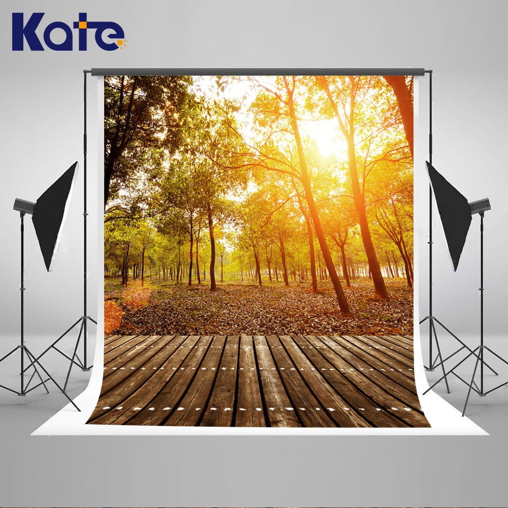 Kate Spring Photography Backdrops Sunny Forest Background Wood Field Backdrop Large Size Seamless Photo For Photography Studio