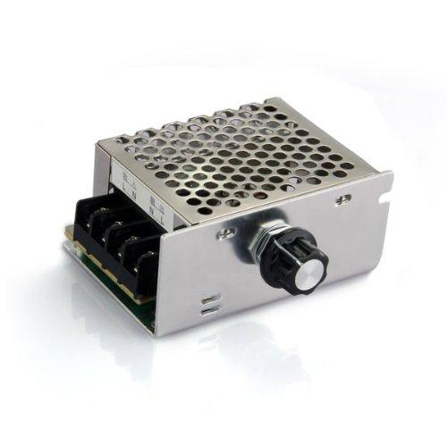 Voltage regulator Voltage Speed Controller SCR Dimmer + Shell AC 220V 4000WVoltage regulator Voltage Speed Controller SCR Dimmer + Shell AC 220V 4000W
