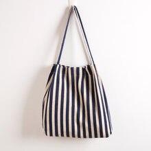 Новая Холщовая Сумка многоразовая Хлопковая женская сумка для