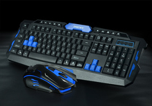 Wireless keyboard and mouse combo set