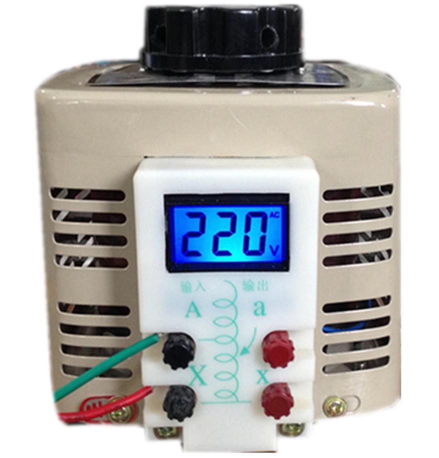 Tdgc2 02kva 02kw 200w Input 220v Single Phase Variac Voltage Delixi Air Circuit Breaker Cdw16300 China Manufacturer 500w Lcd Digital Display Household Regulators 0 250v Is Adjustable Transformer 05