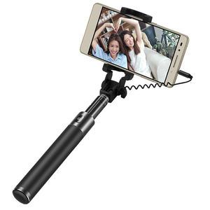 Image 2 - Huawei Honor Selfie Stick AF11 Monopod Wired Extendable Handheld Shutter for Mobilephone 128g 66cm