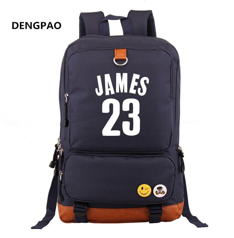 da9f37939c Lebron James 23 Printing Men Backpack Women Laptop Backpacks Students  School Bags Book Bag Mochilas