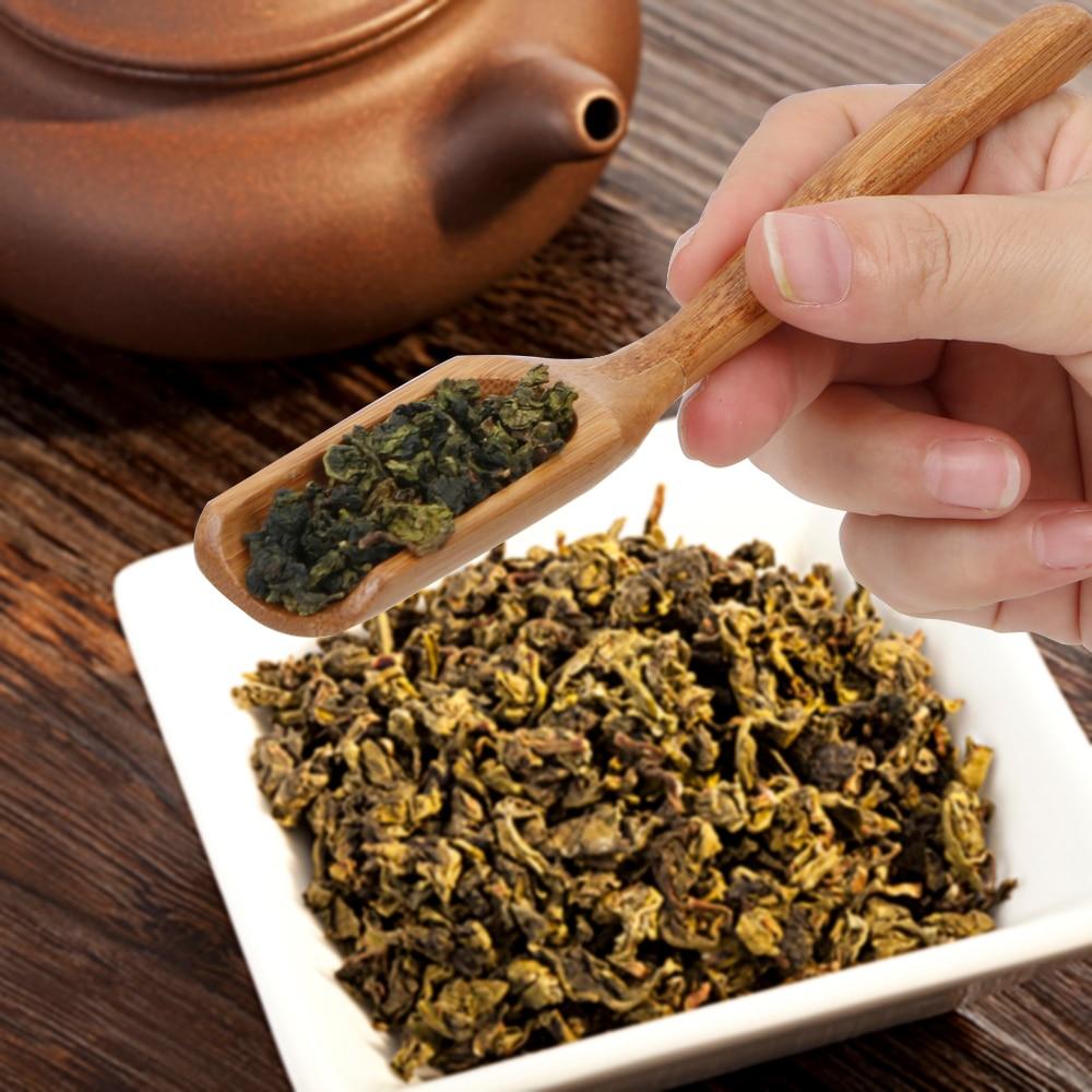 Ложка для чая и меда соус Suger кофе высококачественный чай листья выбор держатель Ретро Стиль Нежный натуральный бамбук чайная ложка
