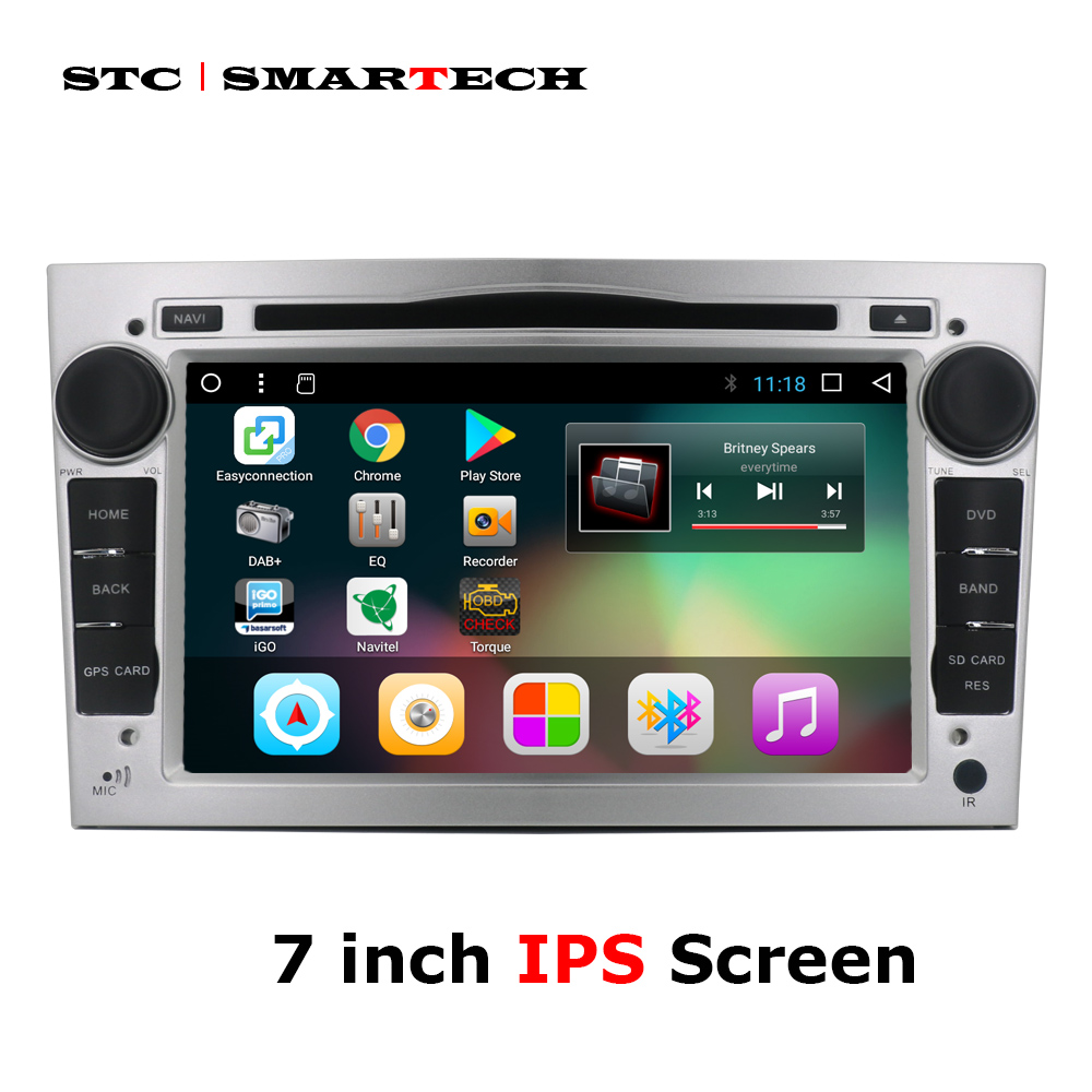 2 Din Android 7.1 Car dvd player gps for Opel/Antara/VECTRA/ZAFIRA/Astra H G J Vauxhall 7 inch Quad Core car radio with CAN-BUS 4 gb ram android 8 0 car dvd gps radio stereo for opel vauxhall astra h g j vectra antara zafira corsa