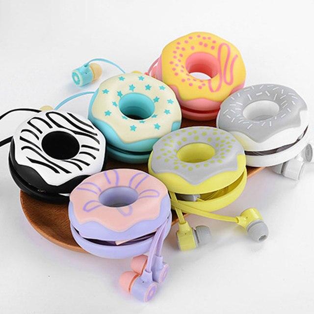 Candy Color Cute Earphones 3.5mm