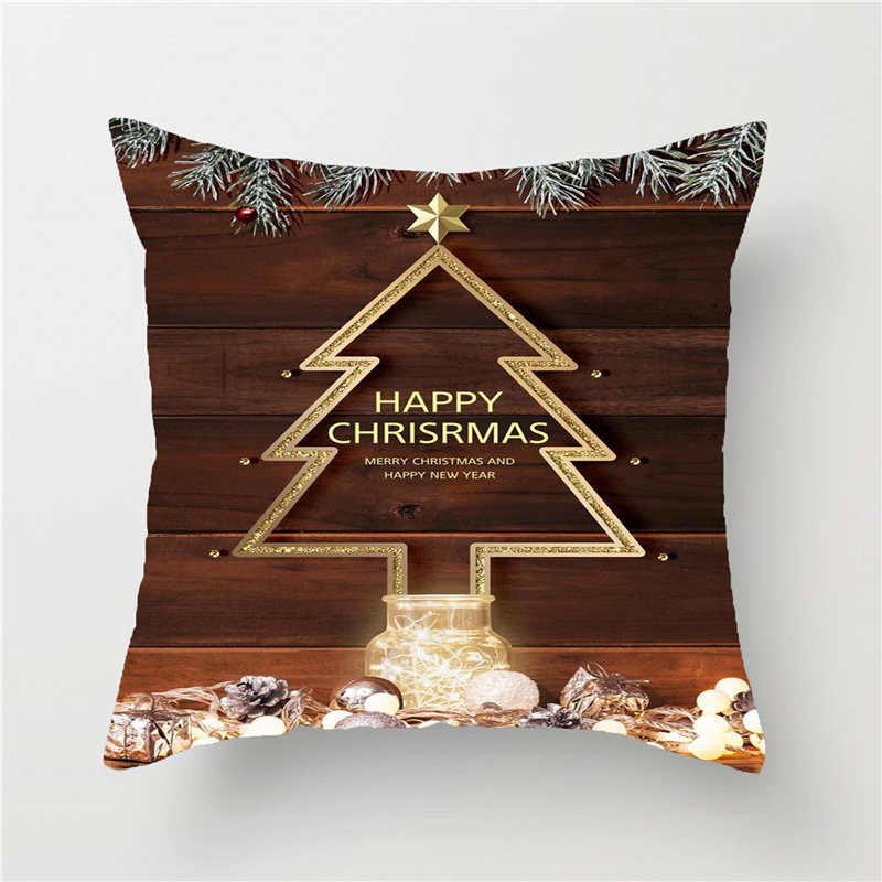 2020 Новогодние рождественские украшения для дома Adornos De Navidad украшения для дома аксессуары для дома натальные Чехлы для подушек Короткие Плюшевые Новые