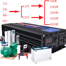 500 Вт-6000 Вт Пуро инвертор A Onda Sinusoidale DC12V-60 в на ac220в/110 В 50 Гц конвертер di Potenza усилитель на автоматический инвертор