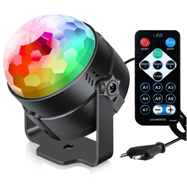 rgb led disco light ball dmx led stage light dj disco led laser dj