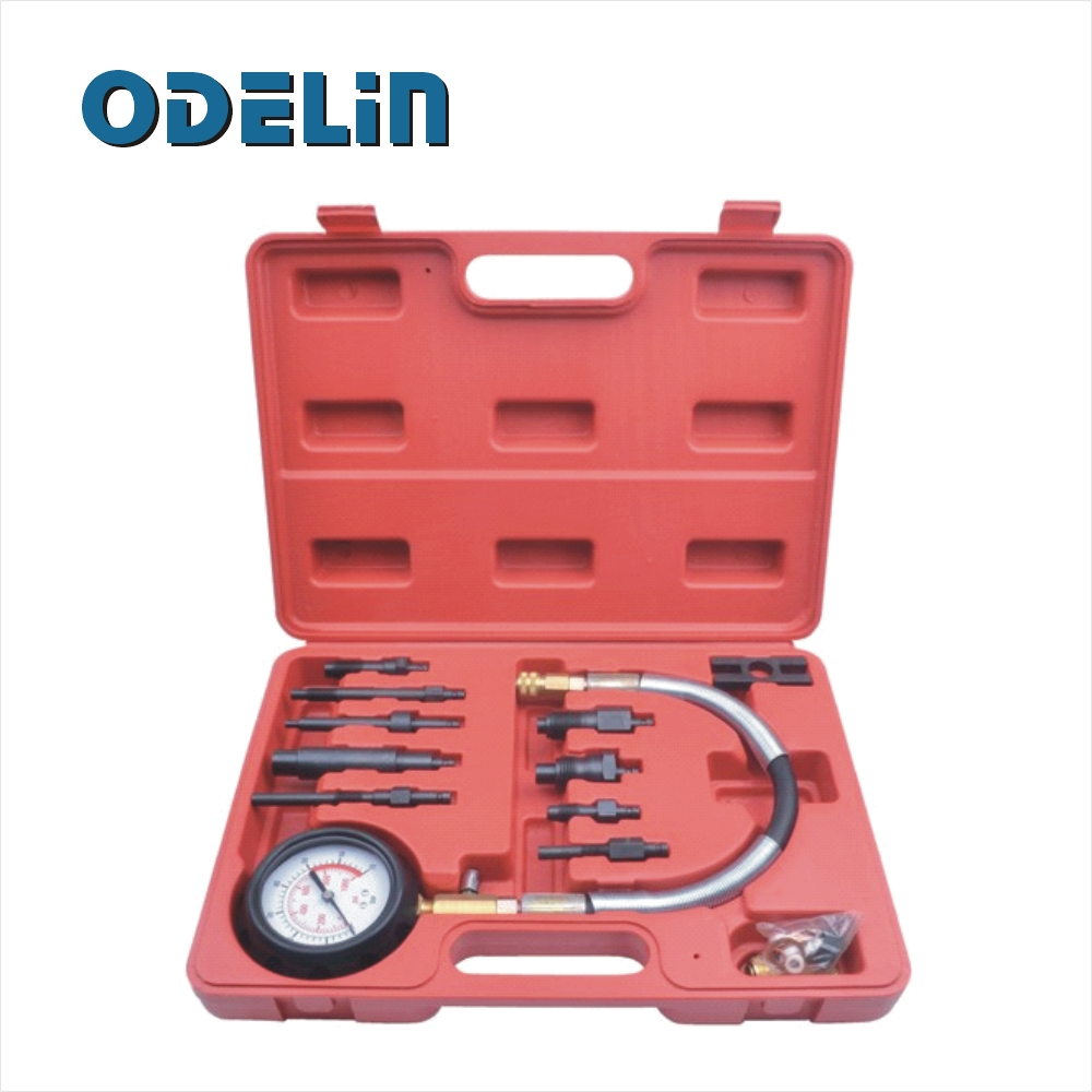 ФОТО 12Pc Diesel Engine Compression Tester Kit Direct & Indirect Injection Tester