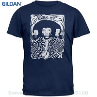 Gildan良い品質ブランドコットンシャツ夏スタイルクールシャツの植毛コンサートflyer tシャ