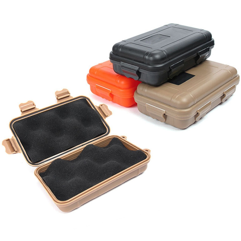 Waterproof Box Storage Outdoor Camp Fish Trunk Airtight Container Carry Travel Seal Case Bush Craft Survive Kit