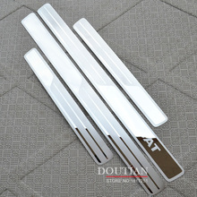 For vw Passat B5 B6 B7 Door Sills Scuff Plate Stainless Steel Welcome Pedal Car Accessories