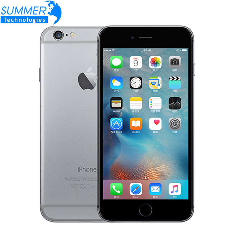 Débloqué Original Apple iPhone 6/iPhone 6 Plus Mobile Téléphone 4.7 /5.5 1 gb RAM 16 /64/128 gb ROM IOS Utilisé SmartPhone