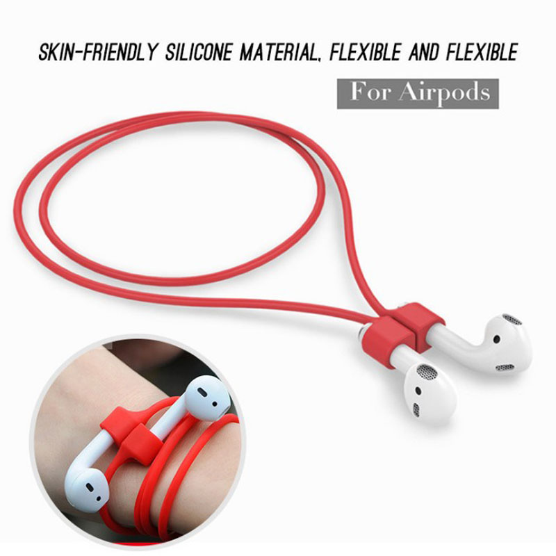 Silicone Ear Loop Strap Anti Lost String Rope Cord For Earphones Apple AirPods