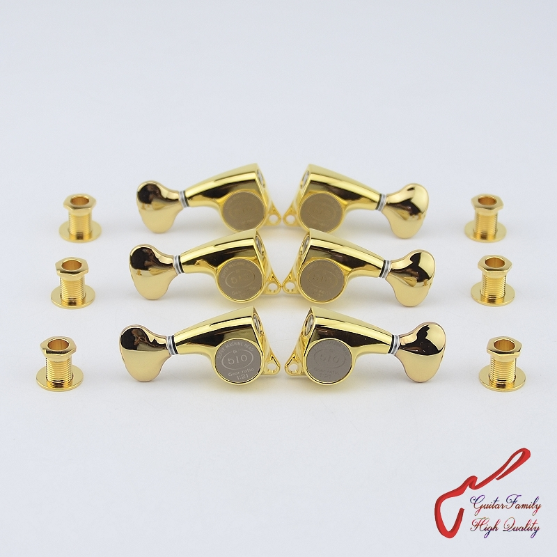 Genuine Original  L3+R3 GOTOH SGL510Z-S5   Guitar  Machine Heads Tuners  ( Gold ) MADE IN JAPAN bacchetta s r l a socio unico