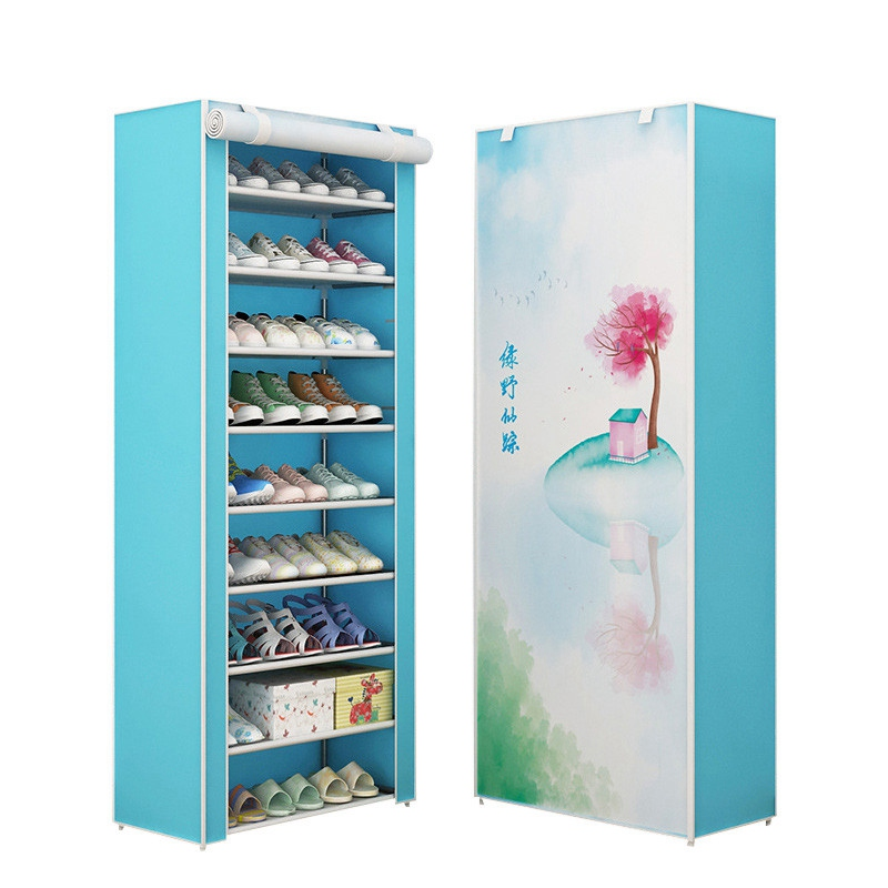 Shoe Cabinets Dustproof Home Shoe Racks Organizer Multiple Layers Shoes Shelf Stand Holder Save Space Living Room Furniture