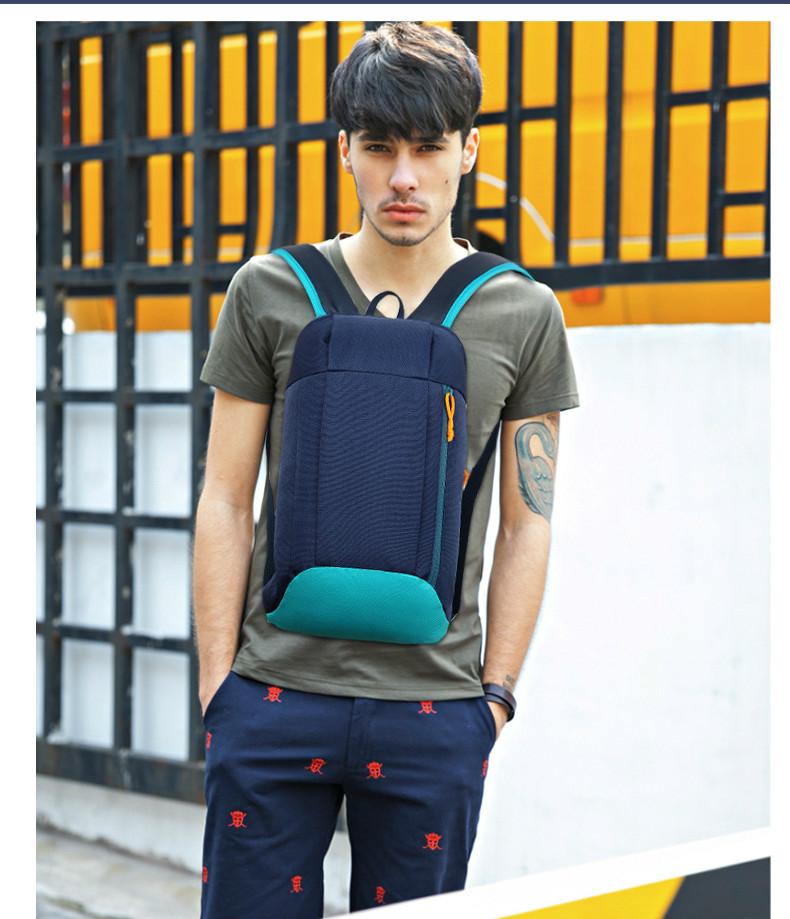 Waterproof S ports Backpack Out Door Luggage Shoulder Women Men School Bags Bagpack Mini Small Teenage Travel Rucksack 3