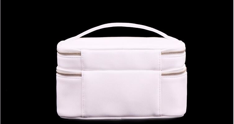 Baginbag Double Layer Cosmetic Bag Cross PU Cosmetics Multifunctional Make Up Makeup Bag Toiletry Bag trousse maquillage femme 11