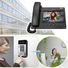 New arrival video intercom system for hotel/office door phone multi apartment video intercom system sip intercom outdoor