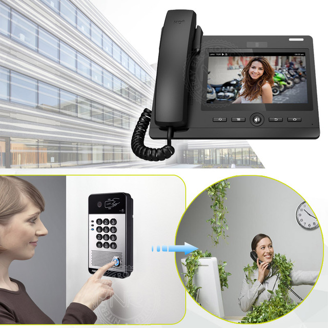 New arrival video intercom system for hotel/office door phone multi ...