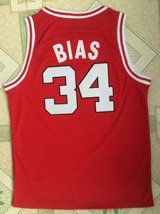 1e8a6a080130 Most Talented BBaller Len Bias  34 Maryland Basketball Jersey