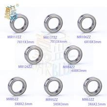 Roulements à billes miniatures, 5 pièces/lot, Mr117zz, Mr137zz, Mr106zz, Mr126zz, Mr84zz, Mr85zz, Mr63zz, Mini roulements, 7x11x3mm