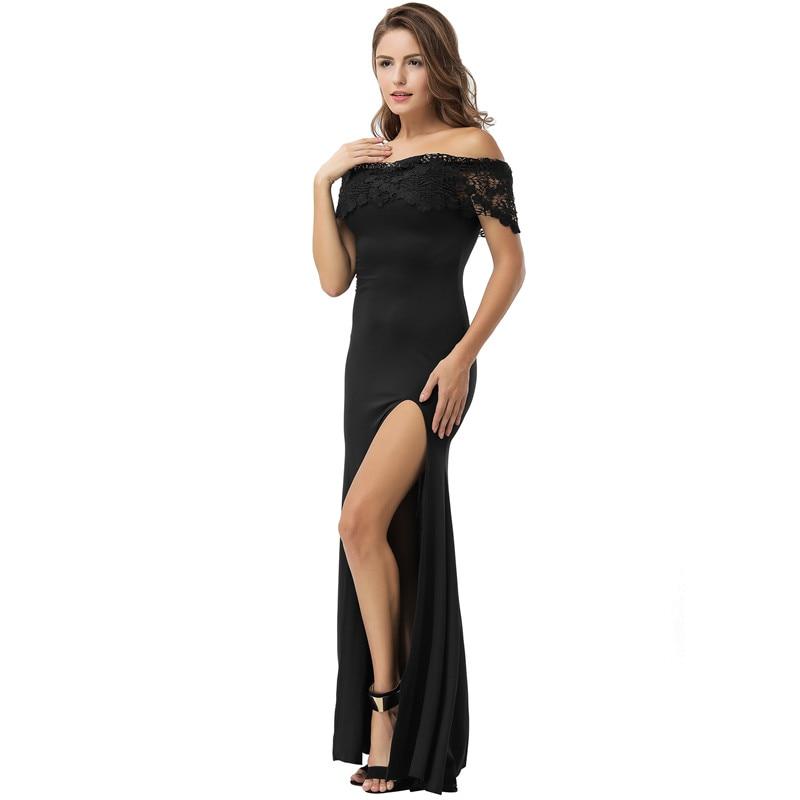 765fc16dc9 Comeondear Vestidos Sexys Night Club Moda Feminina 2018 Ropa Mujer Talla  Grande VB1070 Off Shoulder Black Lace Party Maxi Dress. V1070 (2) V1070 (1)  V1070 ...