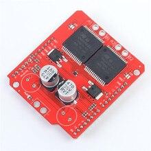 Новая версия Монстр мото щит vnh2sp30 30A Шаговые двигатели Драйвер платы вождения модуль для Arduino