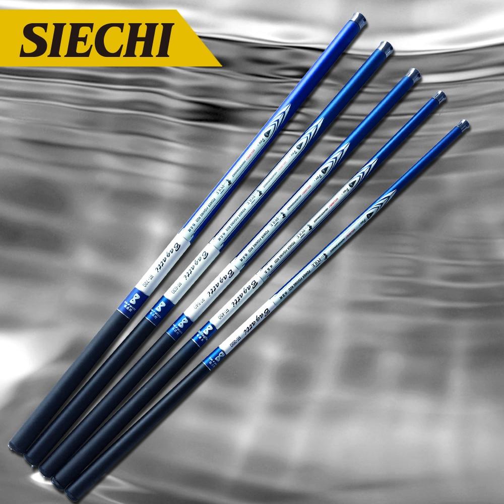 Hot Sale Ultralight SuperHard Stream Hand Pole Carbon Fiber Casting 3.64.55.46.37.2 Meters Telescopic Fishing Rods