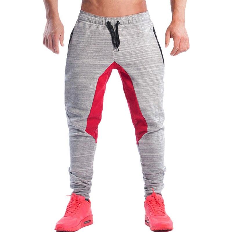 2017 Mens Jogger Männlichen Fitness Casual Mode Marke Jogger Jogginghose Boden Hysterese Hosen Männer Ästhetik Hombre