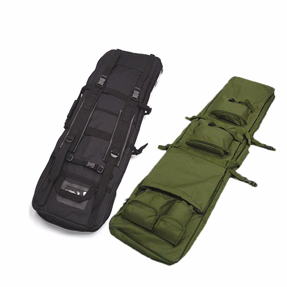 Airsoft 85 100 120cm Gun Bag Case Rifle Backpack Military Hunting Dual Rifle Bag case Square Carry Bags Outdoor Gun Accessories цены онлайн