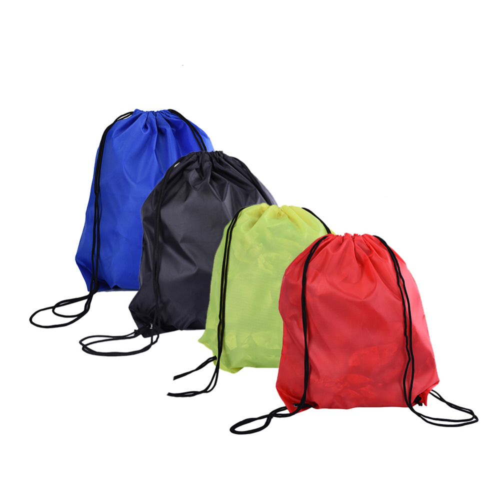 4Colors Portable Outdoor Waterproof Storage Bags Drawstring Backpack For Travel Camping Bags Laundry Pouch Bag Wholesale