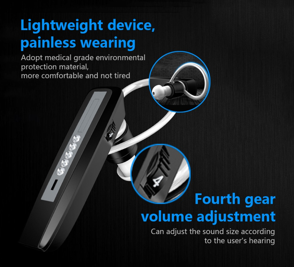 Athphy aparelho auditivo recarregável mini amplificadores de