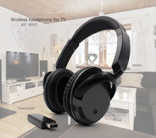 Wireless TV Headset Home Theater headset Computer PC MP3 Music Helmet With PC TV Wireleess Transmit can connect more Headphones