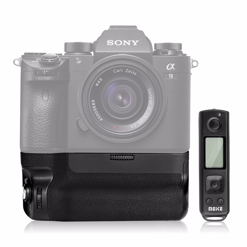 MK-A9 PRO Batterie Grip avec 2.4 ghz Télécommande jusqu'à Control tir Vertical-tir Fonction pour Sony A9 a7RIII A7III